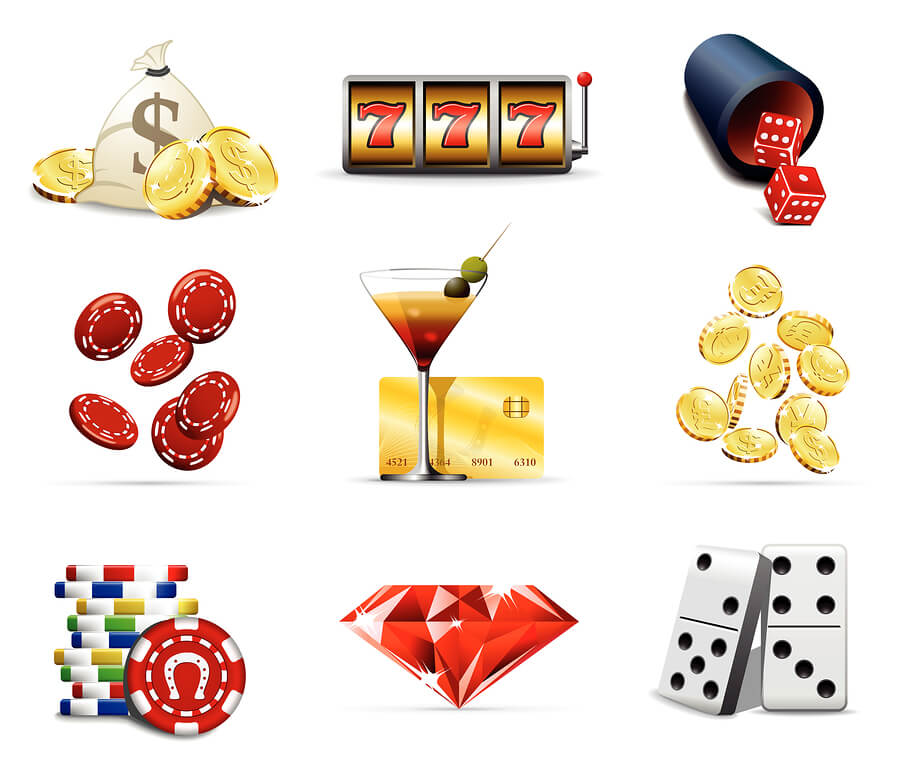 bigstock Casino and gambling icons 7136499 Casinosajt